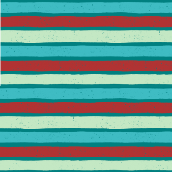 Cool Boards Stripes Jersey, mint/blau/rot