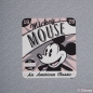 Preview: Disney Mickey Panel Sommersweat, 75 cm, grau